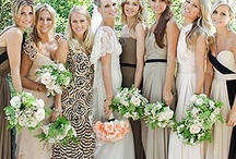 Bridesmaid Inspiration / With the wedding of the century coming up, I better get some ideas together as chief bridesmaid! / by Helen Wade