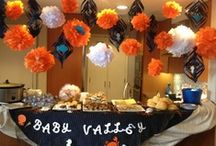 "Under the Sea Baby Shower / The ""under the sea"" concept was brought to San Diego Events Company with great expectations.  We created a detailed, hand crafted event for the expecting mother.  We take the stress off of the family and see the event through from start to finish."