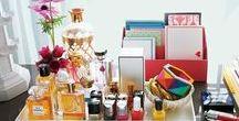 #interior Makeup Storage / Keeping the make-up beautifully organized ♥