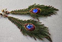 bead earring + stuffs