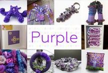 Purple - #CraftBuzz / Lovely Lilac and Incredible Indigo... ***PLEASE NOTE Only 3 pins, per pinner, per day please, so there's a good variety.***