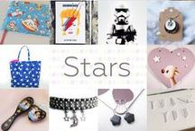 Stars - #CraftBuzz / A collection of beautiful gifts for the starry-eyed! ***PLEASE NOTE Only 3 pins, per pinner, per day please, so there's a good variety.***