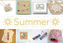 Summer - #CraftBuzz / A selection of summery handmade products from our talented makers. ***PLEASE NOTE Only 3 pins, per pinner, per day please, so there's a good variety.***