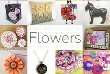Flowers - #CraftBuzz / A selection of gorgeously floral items featuring flowers! ***PLEASE NOTE Only 3 pins, per pinner, per day please, so there's a good variety.***