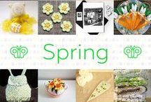 Spring - #CraftBuzz / A selection of beautiful products from our friends and followers with a theme of spring ***PLEASE NOTE Only 3 pins per pinner per day please, to keep it varied***