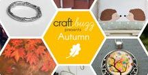 Autumn - #CraftBuzz / A selection of beautiful Autumn themed work from our talented friends and followers! ***PLEASE NOTE Only 3 pins, per pinner, per day please, so there's a good variety.***
