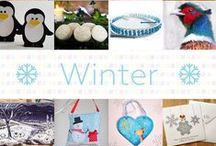 Winter - #CraftBuzz / A selection of gorgeous Winter themed items from our friends and followers at #CraftBuzz  ***PLEASE NOTE Only 3 pins per pinner per day please, so we can keep some variation going.x***