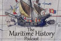 MHP Episodes / A collection of images relating to episodes of the Maritime History Podcast. See related info and listen to episodes at http://maritimehistorypodcast.com #history #podcast #maritimehistory