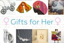 Gifts For Her - #CraftBuzz / Beautiful handmade gifts for girls and ladies. ***PLEASE NOTE Only 3 pins, per pinner, per day please, so there's a good variety.***