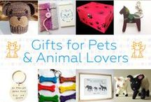 Gifts For Pets & Animal Lovers - #CraftBuzz / Cute handmade gifts for pets & animal lovers. ***PLEASE NOTE Only 3 pins, per pinner, per day please, so there's a good variety.***