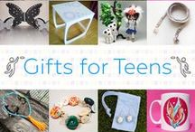 Gifts For Teens - #CraftBuzz / Beautiful handmade gifts for teenaged boys & girls. ***PLEASE NOTE Only 3 pins, per pinner, per day please, so there's a good variety.***