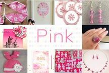 Pink - #CraftBuzz / A pretty pink selection from our talented #CraftHour members! ***PLEASE NOTE Only 3 pins, per pinner, per day please, so there's a good variety.***