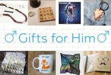 Gifts for Him - #CraftBuzz / Handsome handmade gifts for men. ***PLEASE NOTE Only 3 pins, per pinner, per day please, so there's a good variety.***