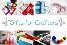 Gifts For Crafters - #CraftBuzz / Beautiful handmade gifts for crafters and artists. ***PLEASE NOTE Only 3 pins, per pinner, per day please, so there's a good variety.***
