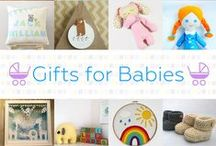 Gifts For Babies - #CraftBuzz / Beautiful handmade gifts for babies and new parents. ***PLEASE NOTE Only 3 pins, per pinner, per day please, so there's a good variety.***