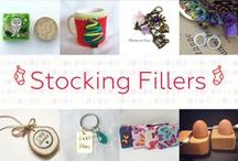 Stocking Fillers - #CraftBuzz / Beautiful handmade gifts that would be lovely stocking fillers. ***PLEASE NOTE Only 3 pins, per pinner, per day please, so there's a good variety.***