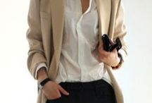 OFFICE STYLE / Professional looks for modern working women.