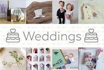 Weddings - #CraftBuzz / Beautiful handmade wedding ideas. ***PLEASE NOTE Only 3 pins, per pinner, per day please, so there's a good variety.***