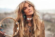 Gypsy style girl