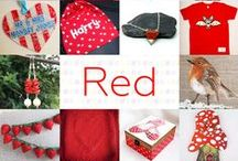 Red - #CraftBuzz / Red, Crimson, Scarlet, Rouge... what a lot of ruddy lovely products! ***PLEASE NOTE Only 3 pins, per pinner, per day please, so there's a good variety.***