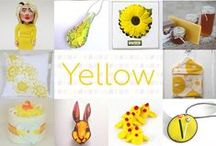 Yellow - #CraftBuzz / A collection of bright & sunny yellow items! ***PLEASE NOTE Only 3 pins, per pinner, per day please, so there's a good variety.***