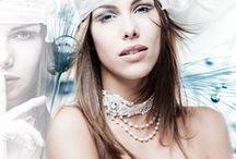 Bridal necklace -  - tolle Brautschmuck Ketten / Bridal - Bride to be - Brautschmuck - Ketten zur Hochzeit