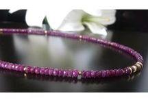 handcrafted gem jewels - Edelsteine Schmuck / Gem - Steinketten, handgefertigter Schmuck mit Edelsteinen