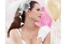 stylische Brautschleier  - bridal veil / Brautschleier