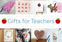 Gifts For Teachers - #CraftBuzz / Beautiful handmade gifts to say thank you to those lovely teachers. ***PLEASE NOTE Only 3 pins, per pinner, per day please, so there's a good variety.***