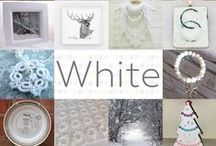 White - #CraftBuzz / A collection of gorgeous white handmade items from the talented #CraftHour crafters.x ***PLEASE NOTE Only 3 pins, per pinner, per day please, so there's a good variety.***