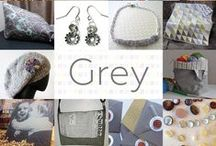 Grey - #CraftBuzz / A collection of gorgeous grey creations!  ***PLEASE NOTE Only 3 pins, per pinner, per day please, so there's a good variety.***