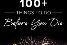 Things on bucket list i've done / by Megan Brown