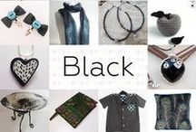 Black - #CraftBuzz / A selection of gorgeous black products from our members & friends - ***PLEASE NOTE Only 3 pins, per pinner, per day please, so there's a good variety.***