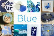 Blue - #CraftBuzz / A collection of blue handmade items from the talented #CraftHour followers.x ***PLEASE NOTE Only 3 pins, per pinner, per day please, so there's a good variety.***