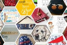 Sport - #CraftBuzz / Spectacularly Sporty handmade creations! ***PLEASE NOTE Only 3 pins, per pinner, per day please, so there's a good variety.***