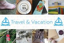 Travel & Vacation - #CraftBuzz / Gorgeous handmade creations that fit the theme of travel and vacation! ***PLEASE NOTE Only 3 pins, per pinner, per day please, so there's a good variety.***