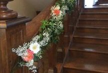 Staircase decorations / Some ideas about decorating the Layer Marney Staircase