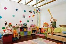 little people live here / Beautiful and fun ideas for family homes