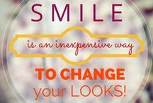 Smile Quotes / Inspirational quotes to keep you smiling! #SmileQuotes #Inspiration #DentalImplants