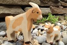 Holztiger  / Beautiful German designed wooden animals and figures.
