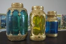 Bottles and vases