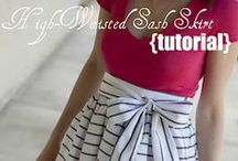 DIY clothing and style