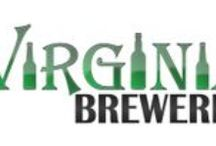 Virginia Brewery Locations  / A collection of brewery logos from the state of Virginia.  For more information about each brewery, check out virginiabreweries.com
