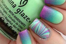 Nails gradient