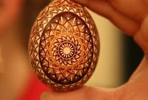 POLAND: pisanki / pisanki - traditional easter eggs from Poland