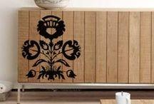 modern Polish ethno/folk design