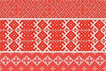 embroidery patterns / wzory haftów / embroidery patterns from various countries