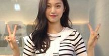 Styleonme with Korean stars / Featuring Korean stars wearing Styleonme.