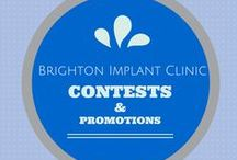 Brighton Implant Clinic Contests and Promotions / Follow this board to make sure that you get all the info for all our ongoing and incoming contests and promotions.
