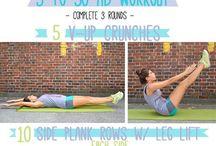 Trening/helse / Tips, øvelser, oppskrifter m.m